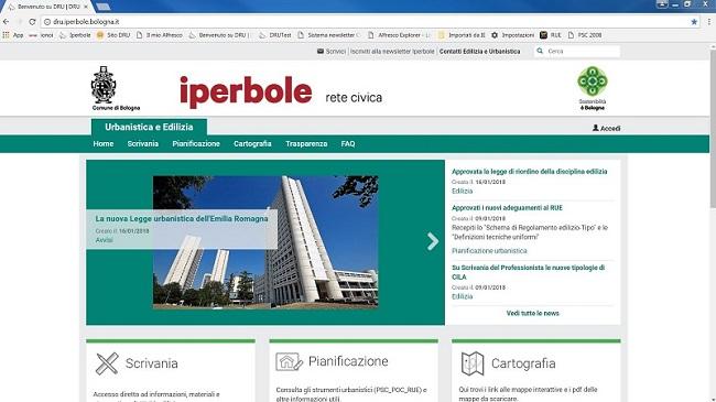 Online il nuovo portale del Dipartimento Riqualificazione Urbana